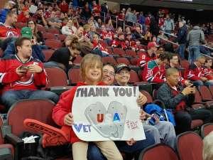 Deborah attended New Jersey Devils vs. Tampa Bay Lightning - NHL on Oct 30th 2019 via VetTix