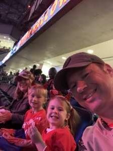 Jonathan attended New Jersey Devils vs. Tampa Bay Lightning - NHL on Oct 30th 2019 via VetTix