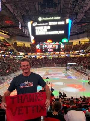 Kenneth attended New Jersey Devils vs. Tampa Bay Lightning - NHL on Oct 30th 2019 via VetTix