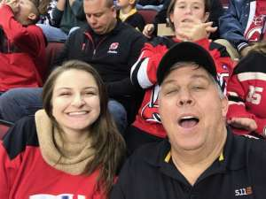 Matthew attended New Jersey Devils vs. Tampa Bay Lightning - NHL on Oct 30th 2019 via VetTix
