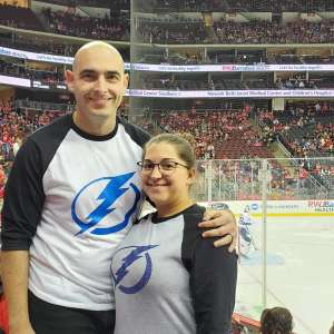 Scott attended New Jersey Devils vs. Tampa Bay Lightning - NHL on Oct 30th 2019 via VetTix