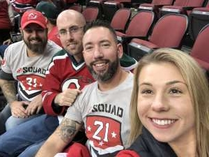 Howard attended New Jersey Devils vs. Tampa Bay Lightning - NHL on Oct 30th 2019 via VetTix