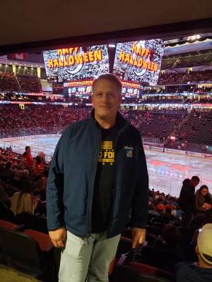 Thomas attended New Jersey Devils vs. Tampa Bay Lightning - NHL on Oct 30th 2019 via VetTix