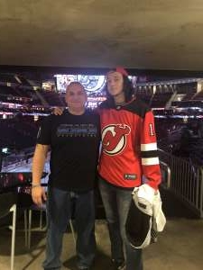 Steven attended New Jersey Devils vs. Tampa Bay Lightning - NHL on Oct 30th 2019 via VetTix