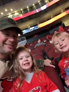 Jonathan attended New Jersey Devils vs. Philadelphia Flyers - NHL on Nov 1st 2019 via VetTix