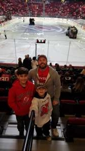 Sean attended New Jersey Devils vs. Philadelphia Flyers - NHL on Nov 1st 2019 via VetTix