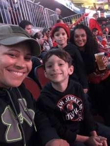Oshanda attended New Jersey Devils vs. Philadelphia Flyers - NHL on Nov 1st 2019 via VetTix