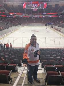 Robert attended New Jersey Devils vs. Philadelphia Flyers - NHL on Nov 1st 2019 via VetTix