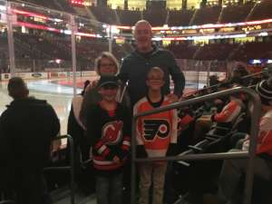Brad attended New Jersey Devils vs. Philadelphia Flyers - NHL on Nov 1st 2019 via VetTix
