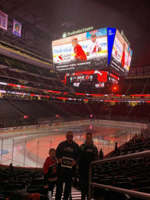 James attended New Jersey Devils vs. Philadelphia Flyers - NHL on Nov 1st 2019 via VetTix