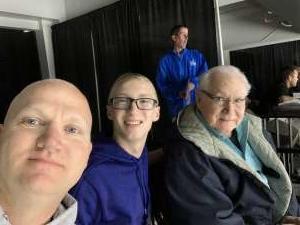 John attended Jacksonville Icemen vs. Greenville Swamp Rabbits - ECHL on Nov 27th 2019 via VetTix