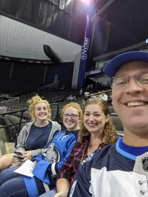 Christopher attended Jacksonville Icemen vs. Greenville Swamp Rabbits - ECHL on Nov 27th 2019 via VetTix