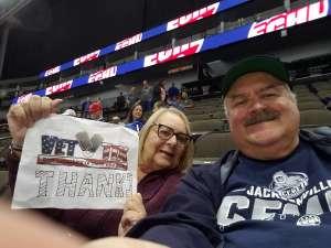 Robert attended Jacksonville Icemen vs. Greenville Swamp Rabbits - ECHL on Nov 27th 2019 via VetTix