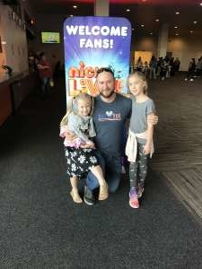 Anthony attended Nick Jr. Live! Move to the Music - Presented by Vstar Entertainment on Nov 24th 2019 via VetTix