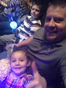 Brian attended Nick Jr. Live! Move to the Music - Presented by Vstar Entertainment on Nov 24th 2019 via VetTix