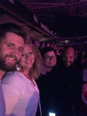 Barbara attended Casting Crowns + Hillsong Worship + Elevation Worship USA Tour on Nov 7th 2019 via VetTix