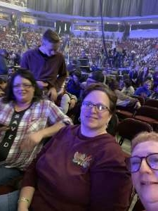 Robert attended Casting Crowns + Hillsong Worship + Elevation Worship USA Tour on Nov 7th 2019 via VetTix