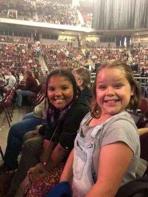 Virginia attended Casting Crowns + Hillsong Worship + Elevation Worship USA Tour on Nov 7th 2019 via VetTix