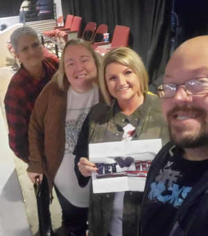 KENNETH attended Casting Crowns + Hillsong Worship + Elevation Worship USA Tour on Nov 7th 2019 via VetTix