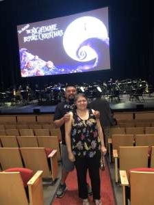 Eugene attended Disney Tim Burton's: the Nightmare Before Christmas - 2: 00 PM Performance on Nov 3rd 2019 via VetTix