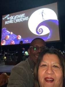 Paige attended Disney Tim Burton's: the Nightmare Before Christmas - 2: 00 PM Performance on Nov 3rd 2019 via VetTix