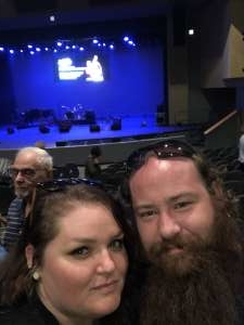 Christopher attended Lee Rocker of the Stray Cats - Higley Center for Performing Arts on Nov 16th 2019 via VetTix