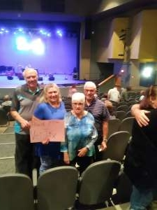 Alfred attended Lee Rocker of the Stray Cats - Higley Center for Performing Arts on Nov 16th 2019 via VetTix