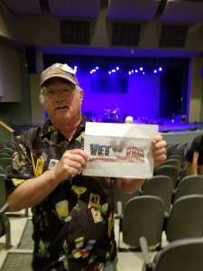William attended Lee Rocker of the Stray Cats - Higley Center for Performing Arts on Nov 16th 2019 via VetTix