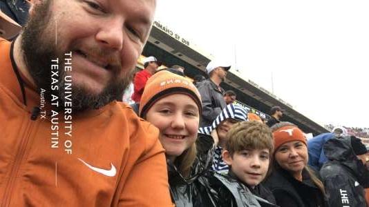 Doug attended University of Texas Longhorns vs. Texas Tech Red Raiders - NCAA Football on Nov 29th 2019 via VetTix