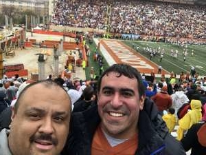 Michael attended University of Texas Longhorns vs. Texas Tech Red Raiders - NCAA Football on Nov 29th 2019 via VetTix
