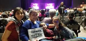 Angel attended World of Dance Live! Tour on Nov 7th 2019 via VetTix