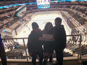 Walt attended San Jose Sharks vs. Minnesota Wild - NHL on Nov 7th 2019 via VetTix