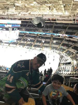 Larry attended San Jose Sharks vs. Minnesota Wild - NHL on Nov 7th 2019 via VetTix