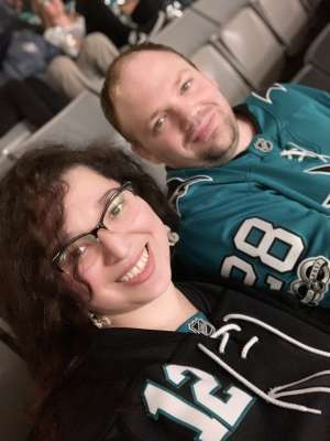 Charles attended San Jose Sharks vs. Minnesota Wild - NHL on Nov 7th 2019 via VetTix