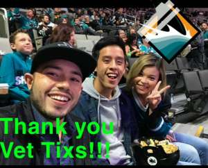 Marcela attended San Jose Sharks vs. Minnesota Wild - NHL on Nov 7th 2019 via VetTix