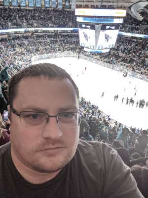 Bryan attended San Jose Sharks vs. Minnesota Wild - NHL on Nov 7th 2019 via VetTix