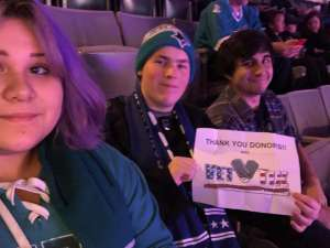 John attended San Jose Sharks vs. Minnesota Wild - NHL on Nov 7th 2019 via VetTix