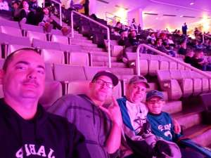 Alexander attended San Jose Sharks vs. Minnesota Wild - NHL on Nov 7th 2019 via VetTix