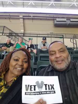 Lazeric Hudson attended University of South Florida Bulls vs. SMU Mustangs - NCAA Mens Basketball on Mar 7th 2020 via VetTix