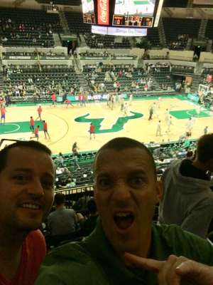 Chad attended University of South Florida Bulls vs. SMU Mustangs - NCAA Mens Basketball on Mar 7th 2020 via VetTix