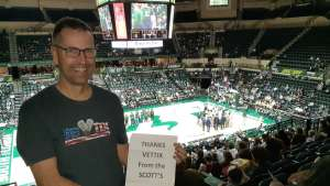 Kenny attended University of South Florida Bulls vs. SMU Mustangs - NCAA Mens Basketball on Mar 7th 2020 via VetTix