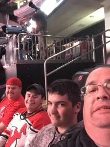Thomas attended New Jersey Devils vs. Boston Bruins - NHL on Nov 19th 2019 via VetTix