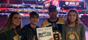 Brian attended New Jersey Devils vs. Boston Bruins - NHL on Nov 19th 2019 via VetTix