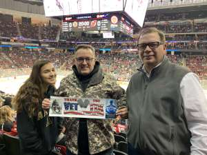 Paul attended New Jersey Devils vs. Boston Bruins - NHL on Nov 19th 2019 via VetTix