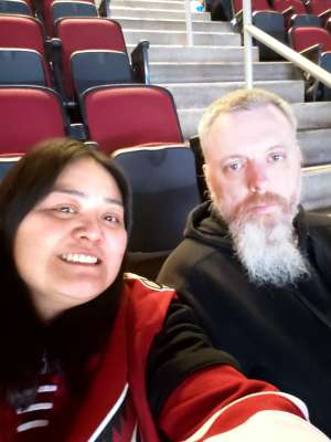 Paxine attended Arizona Coyotes vs. Minnesota Wild - NHL ** Military Appreciation Night ** on Nov 9th 2019 via VetTix