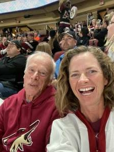 brett attended Arizona Coyotes vs. Minnesota Wild - NHL ** Military Appreciation Night ** on Nov 9th 2019 via VetTix
