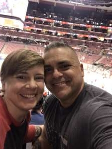 Michelle attended Florida Panthers vs. Detroit Red Wings - NHL on Nov 2nd 2019 via VetTix