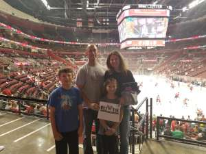 Ian attended Florida Panthers vs. Detroit Red Wings - NHL on Nov 2nd 2019 via VetTix