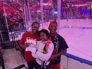 Karriem attended Florida Panthers vs. Detroit Red Wings - NHL on Nov 2nd 2019 via VetTix
