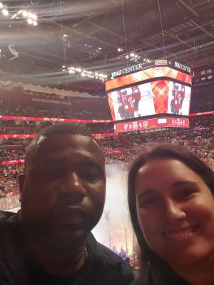 Wesley attended Florida Panthers vs. Detroit Red Wings - NHL on Nov 2nd 2019 via VetTix